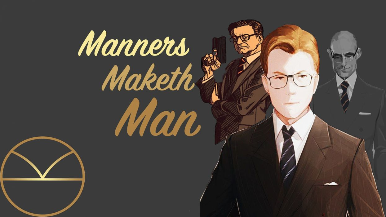 Manners Maketh Man wallpaper HD wallpaper