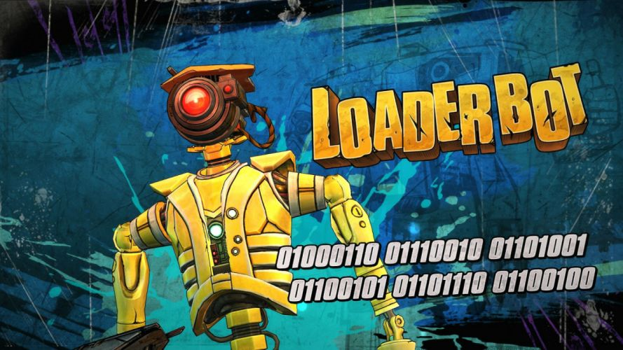 BORDERLANDS action fighting shooter adventure rpg fps sci-fi futuristic wallpaper