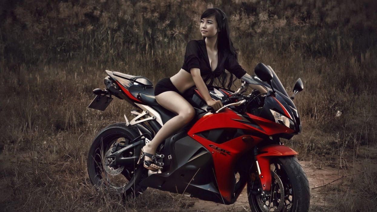 honda cbr women motorcycles models wallpaper