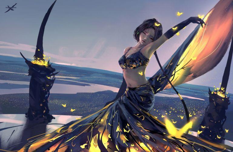 GHOSTBLADE anime fantasy comics adventure manga wlop perfect ghost blade wallpaper