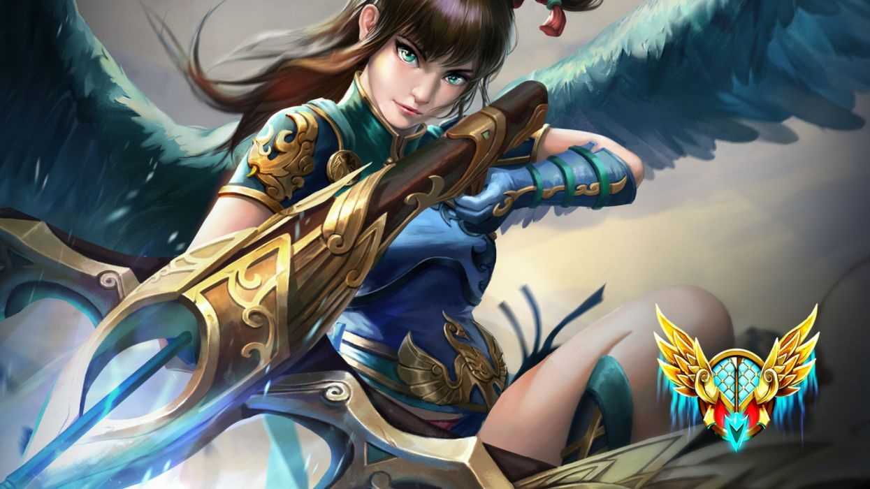 SMITE fantasy fighting mmo online battle arena action warrior wallpaper