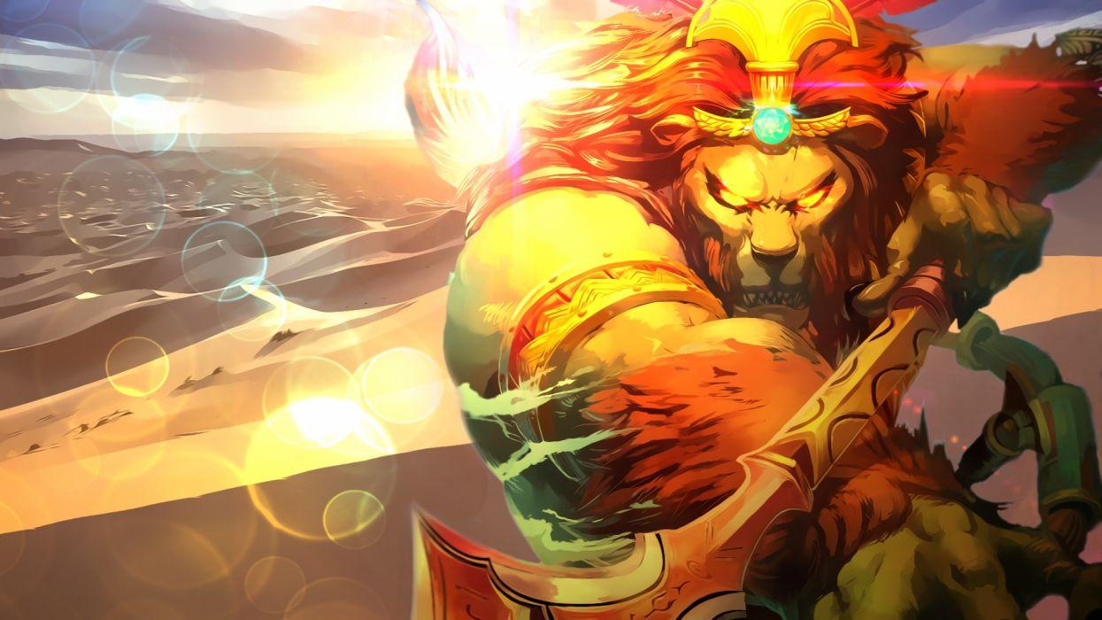 SMITE fantasy fighting mmo online battle arena action warrior battle wallpaper
