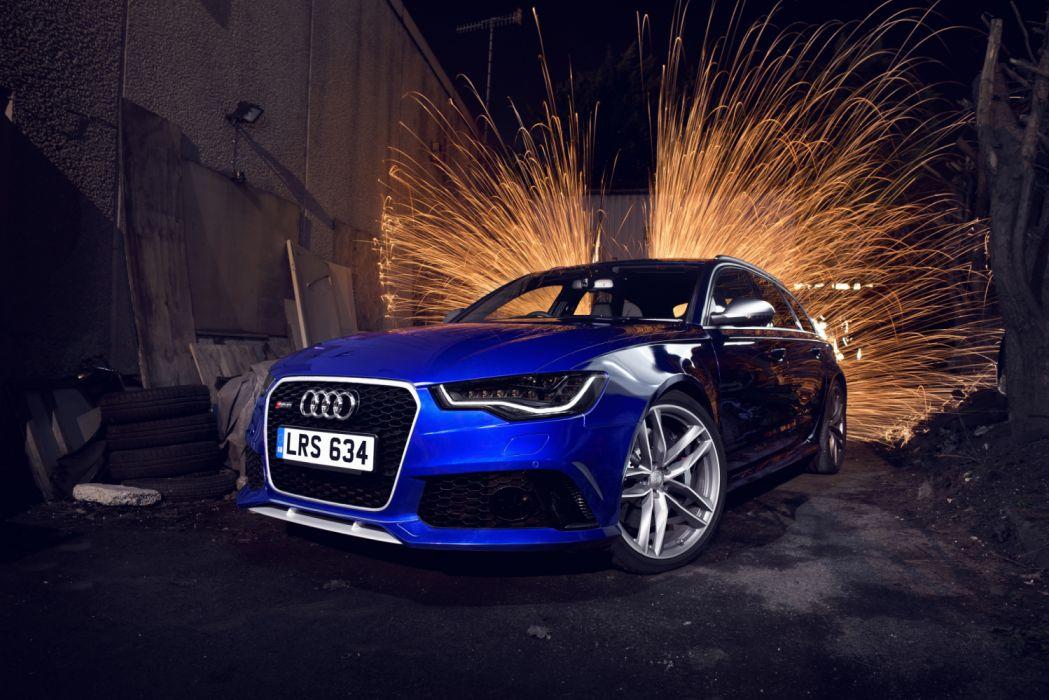Audi RS6 Avant 4G-C7 MkII 2014 wallpaper
