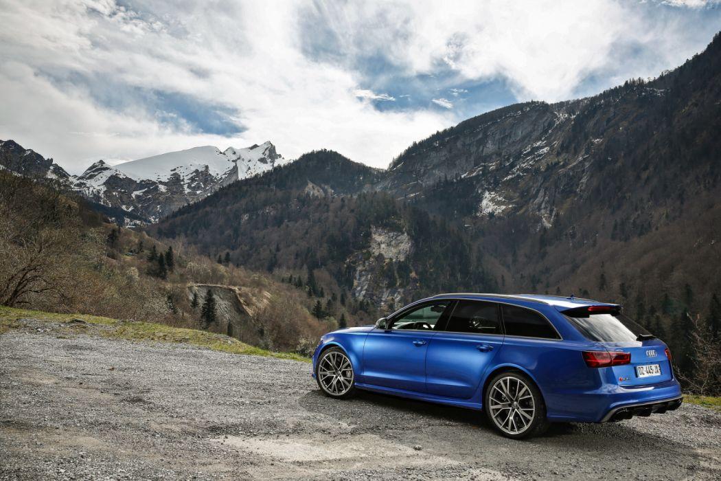 Audi RS6 Avant Performance 4G-C7 MkII 2015 wallpaper