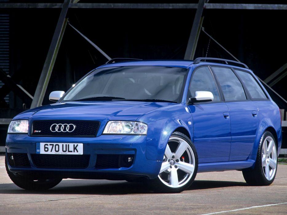 Audi RS6 Plus Avant 4B-C5 2004 wallpaper
