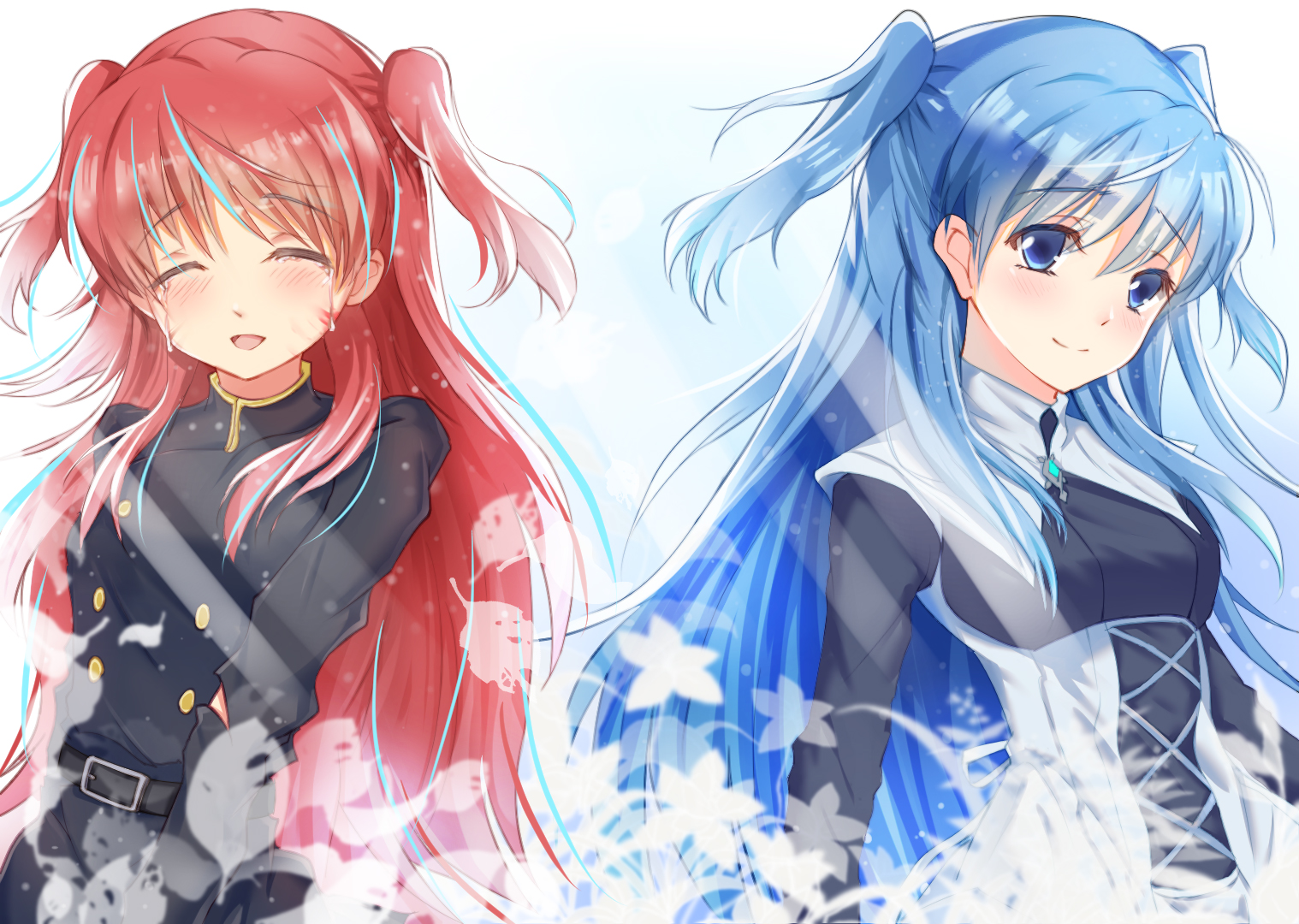 Konachan Com 253650 Blue Eyes Blue Hair Chtholly Nota Seniorious