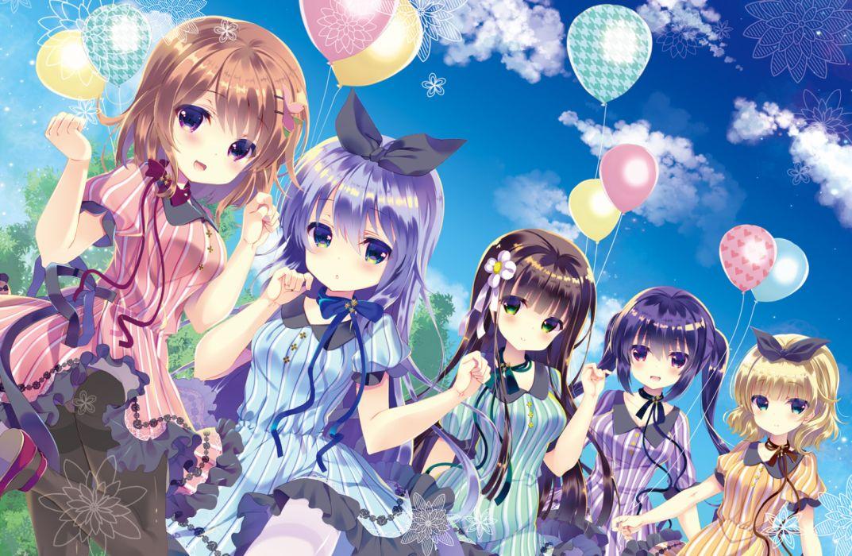 Konachan com - 252449 gochuumon wa usagi desu ka hoto cocoa kafuu chino kirima sharo tagme (artist) tedeza rize ujimatsu chiya wallpaper
