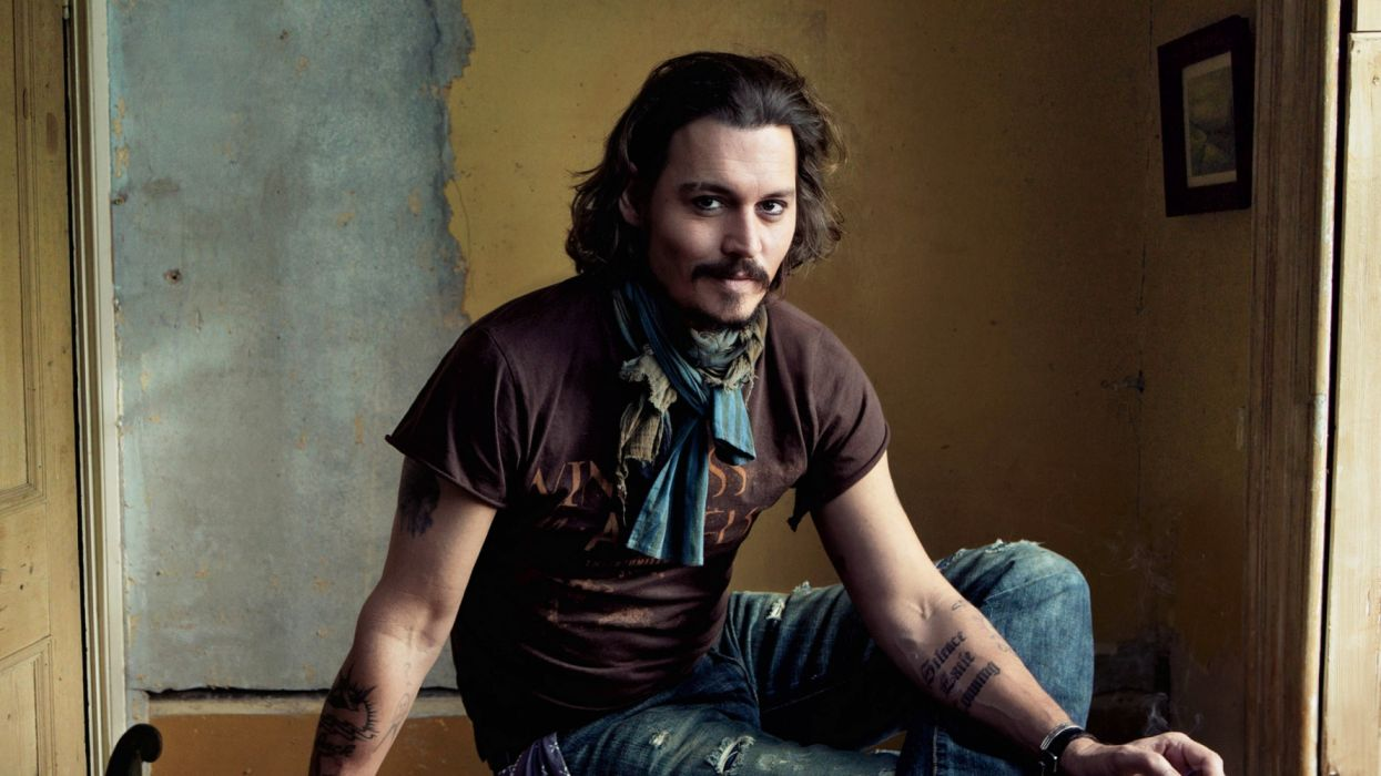 johnny depp actor norteamericano wallpaper