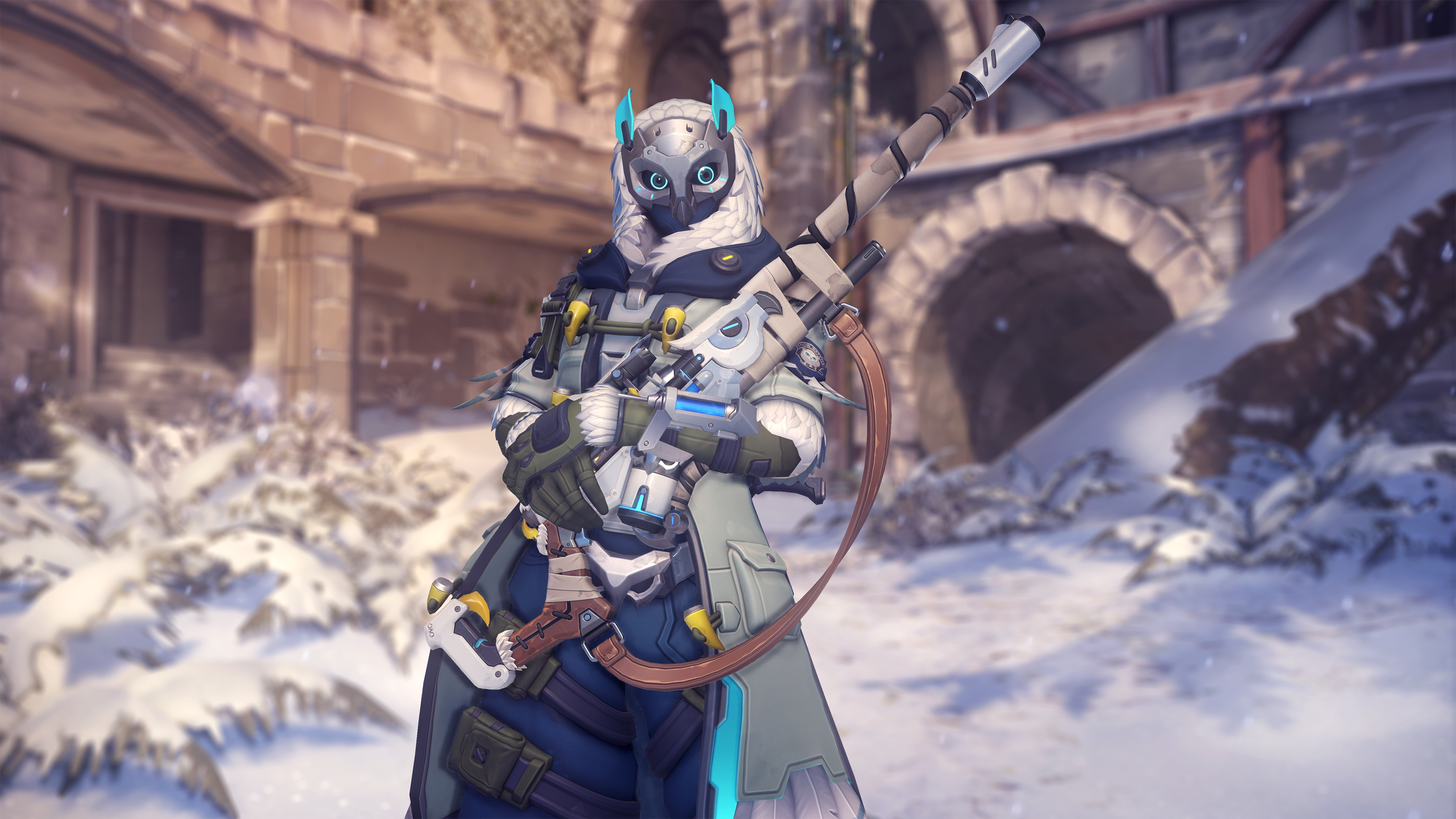 Overwatch Fps Shooter Action Fighting Sci Fi Futuristic