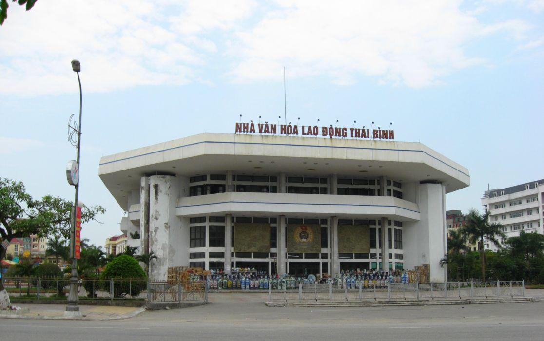Nha Van Hoa Lao Dong Thai Binh wallpaper