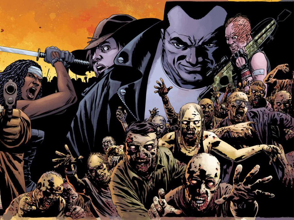 Walking Dead Horror Series Dark Zombie Television Drama