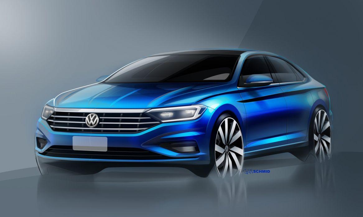 Volkswagen Jetta 2019 wallpaper