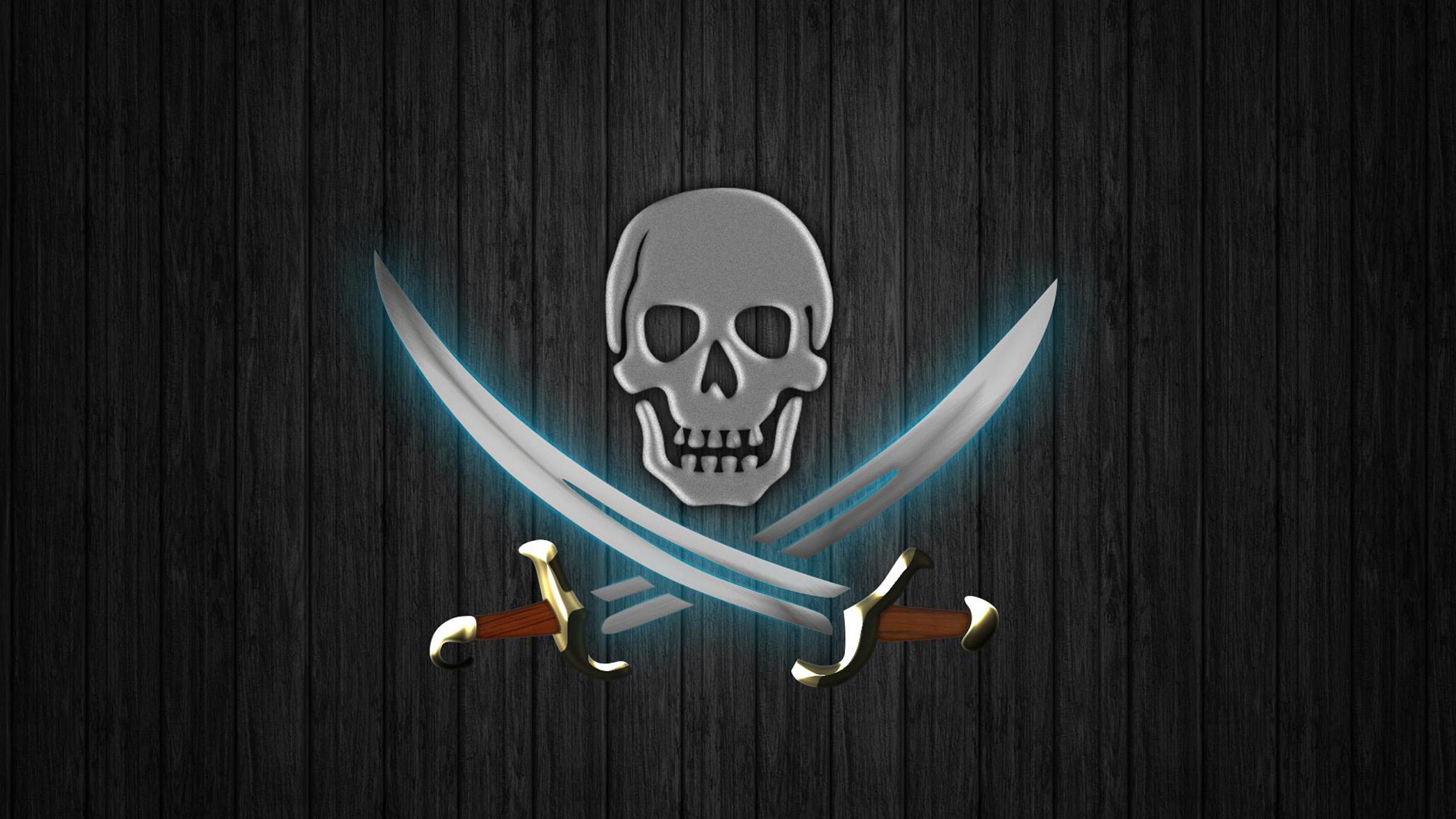 Pirate Skull Wallpaper 2560x1440 1167863 Wallpaperup