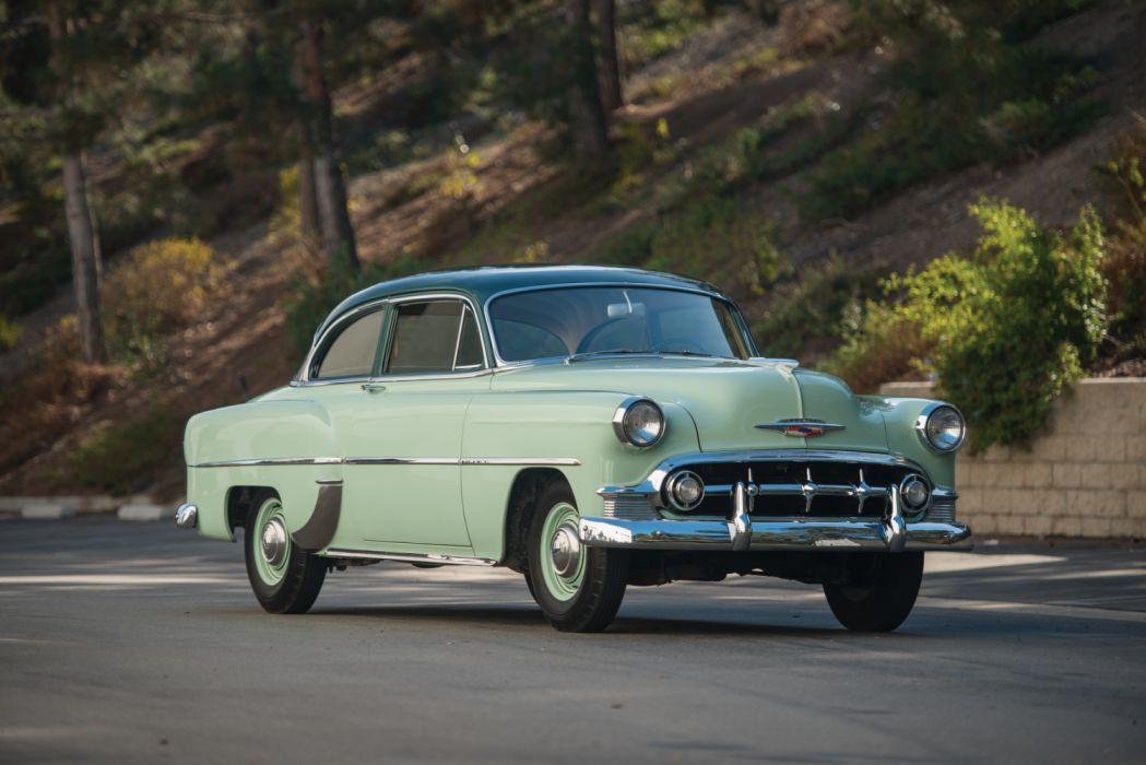 1953 Chevrolet Deluxe Retro Vintage Car Auto Vehicle Automobile