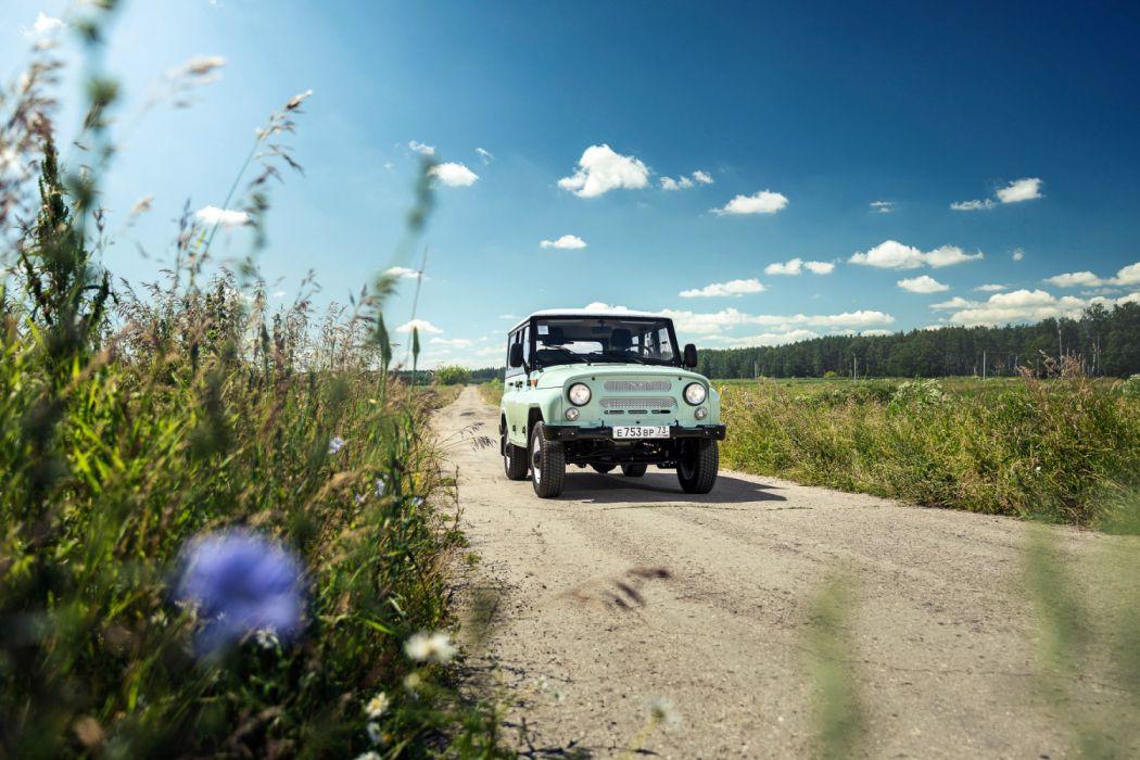 2017 UAZ Hunter Anniversary auto vehicle automobile 4x4 suv truck wallpaper