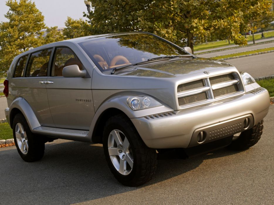 2001 Dodge Powerbox Concept Suv Mopar Wallpaper 2048x1536