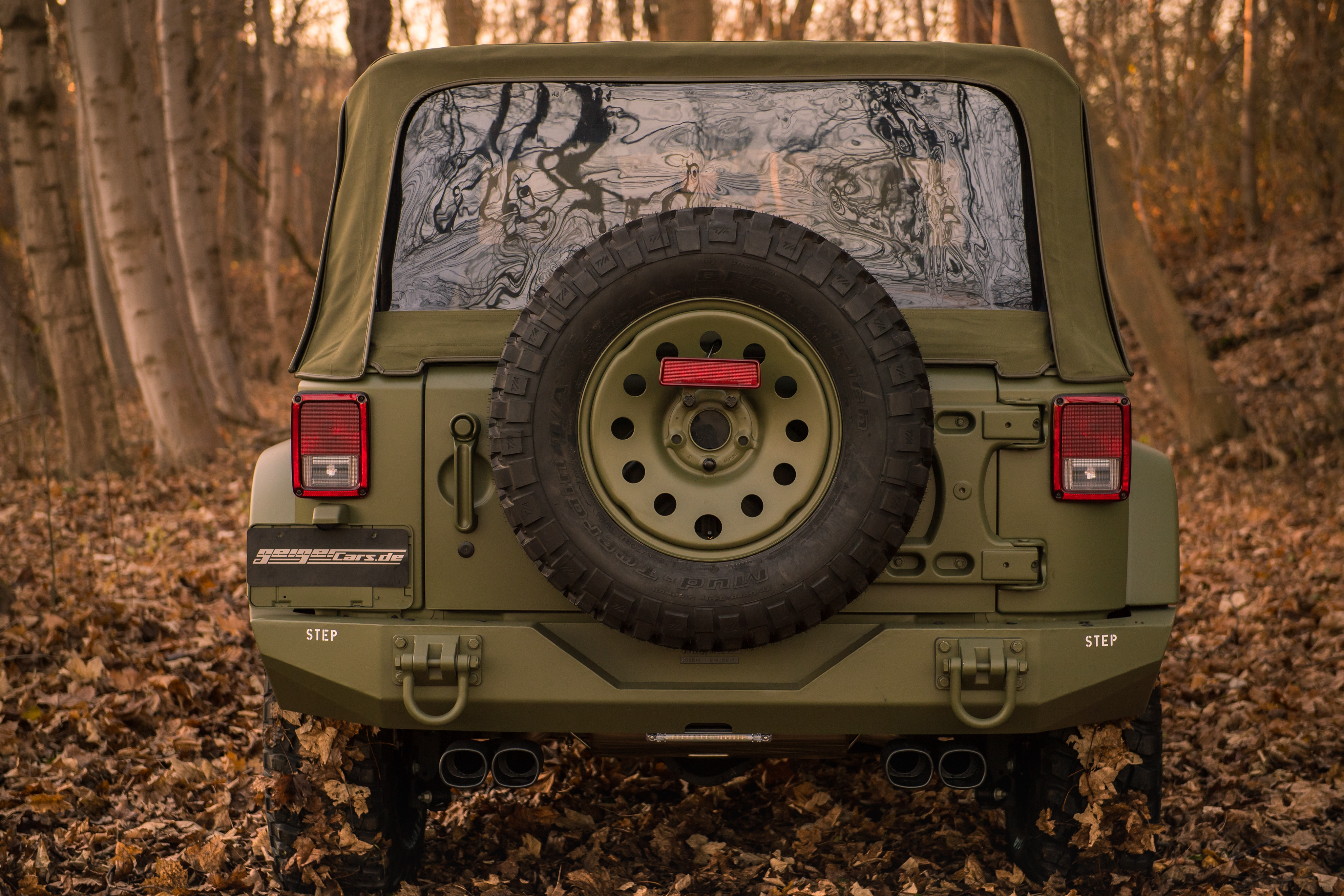 2017 jeep wrangler geiger willys jk 4x4 military tuning. Black Bedroom Furniture Sets. Home Design Ideas