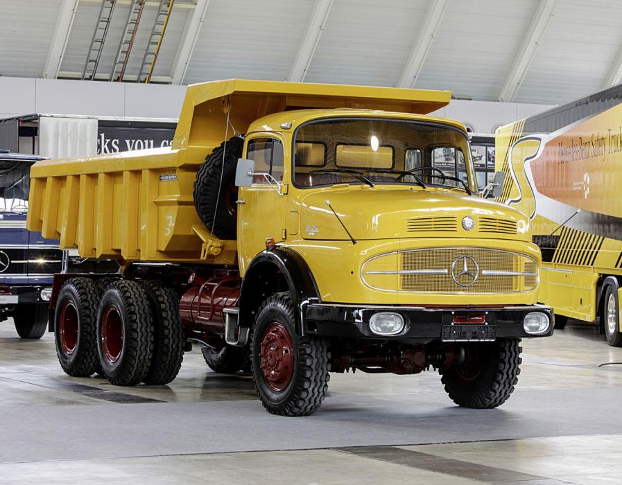 1974 Mercedes Benz LAK 2624 Meiller-Hinterkipper (Br343) dump dumptruck truck semi tractor construction quarry wallpaper