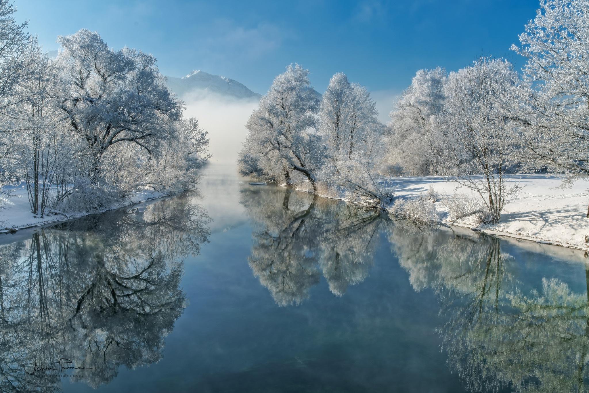 речка мороз зима the river frost winter  № 456326 загрузить