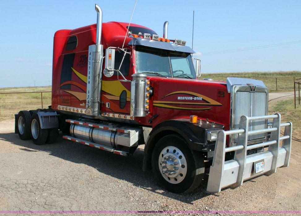 SEMI truck tractor trailer transport big rig transportation lorry vehicle wallpaper