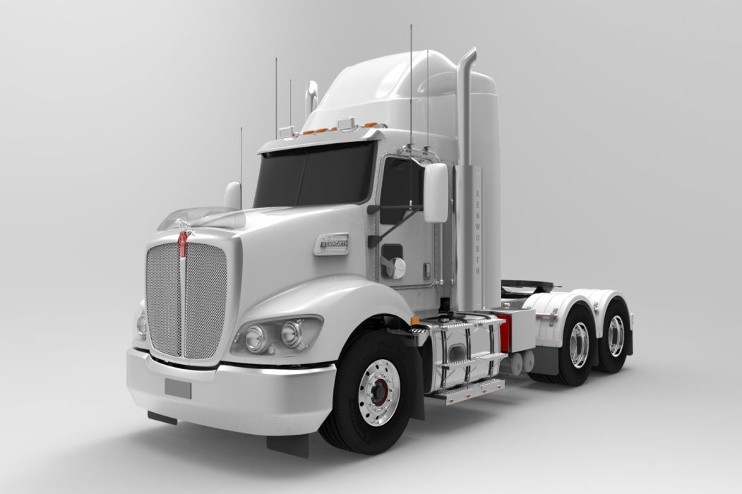 SEMI truck tractor trailer transport big rig transportation lorry vehicle wallpaper