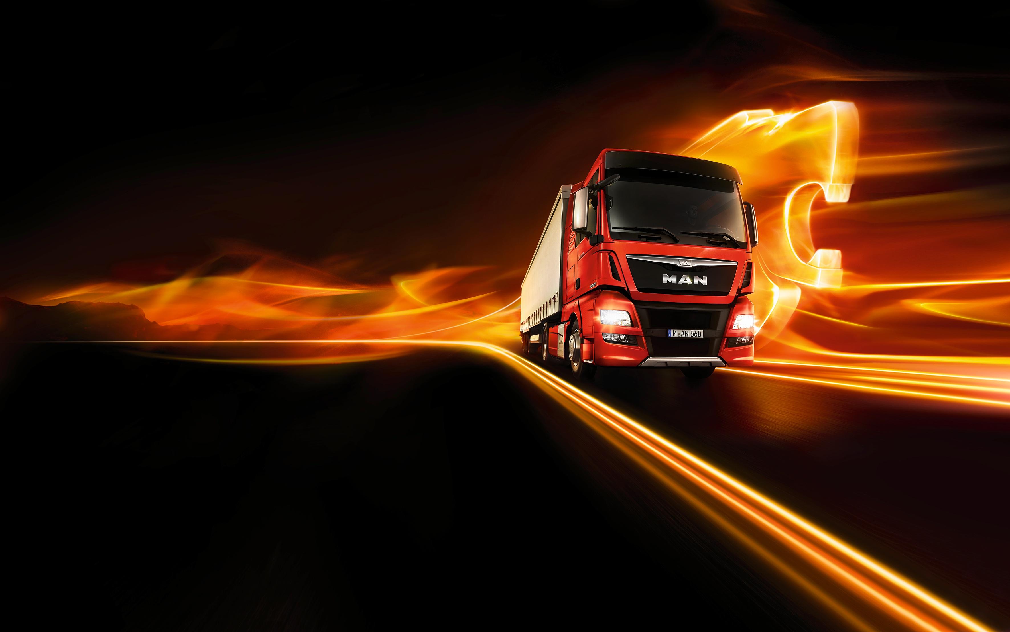 SEMI truck tractor trailer transport big rig transportation lorry vehicle wallpaper   3543x2218   1171637   WallpaperUP