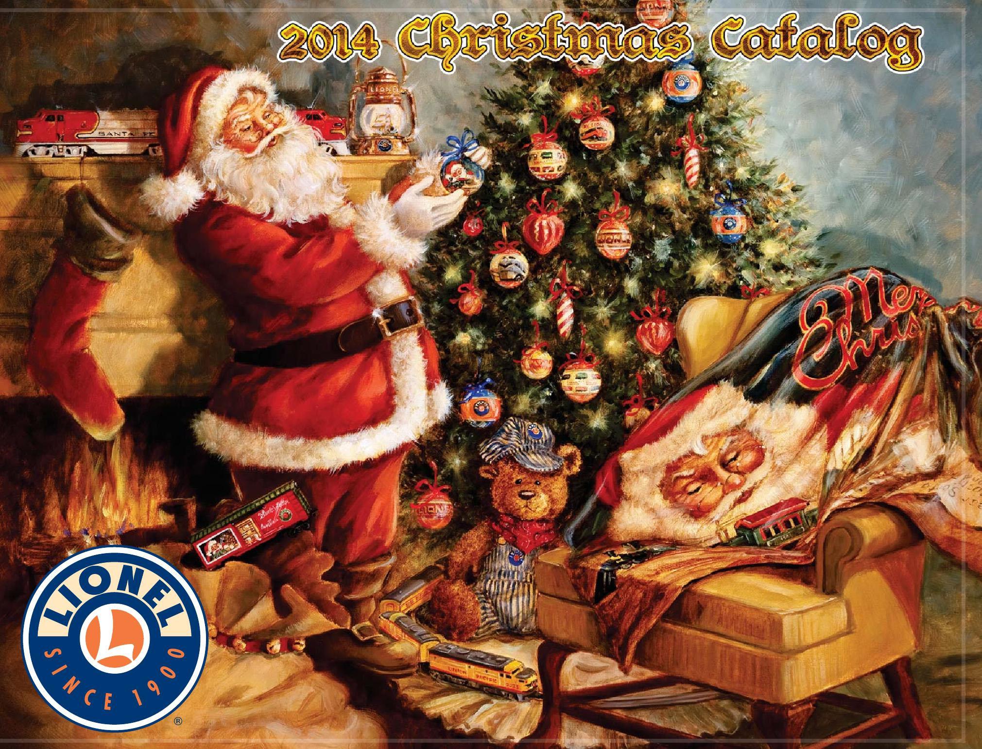Lionel 2016 Christmas Catalog Train Engine Locomotive