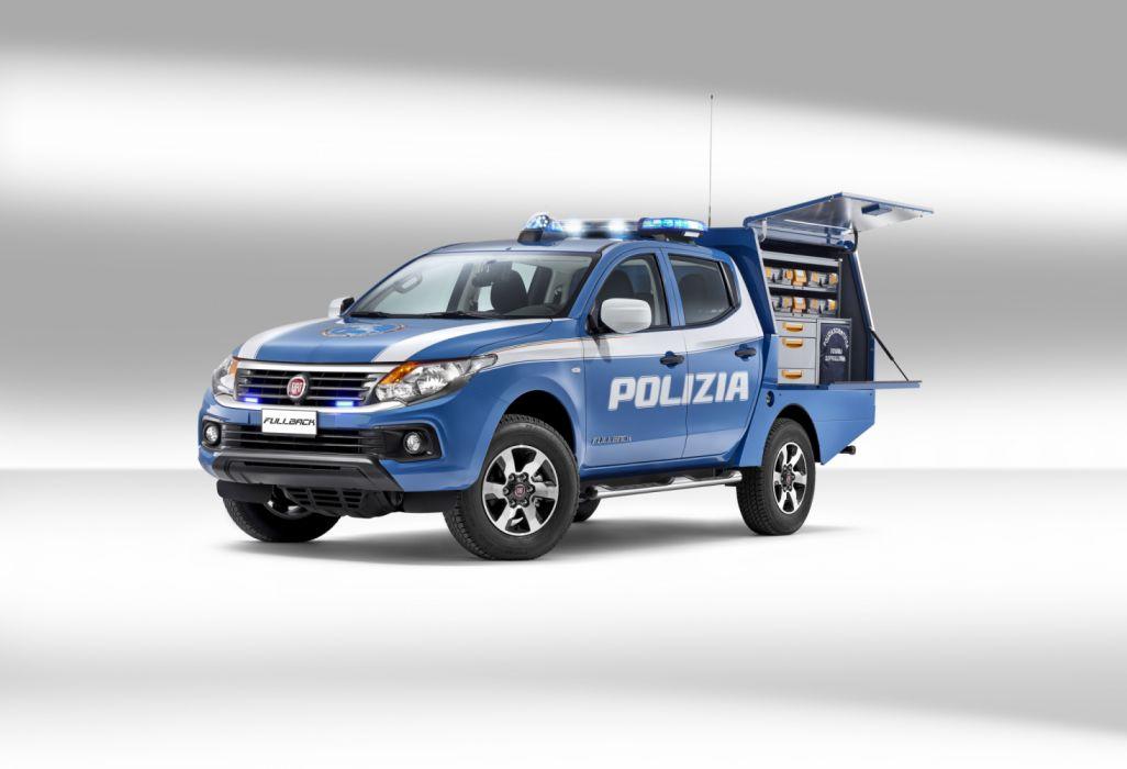 2017 Fiat Fullback Polizia Scientifica pickup truck police emergency wallpaper