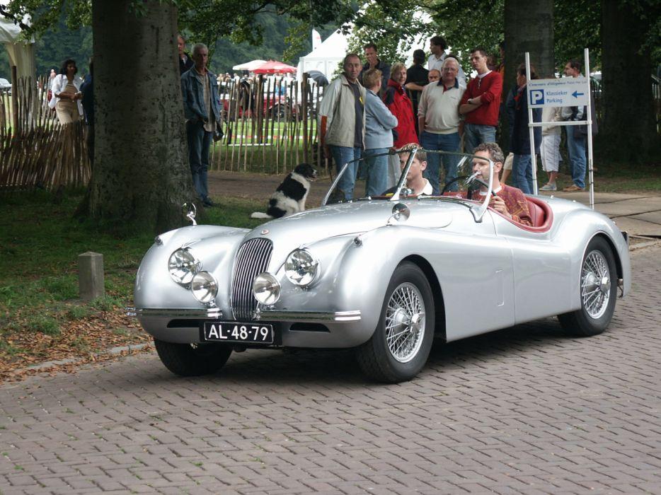 Jaguar XK120 Concours d'Elegance Apeldoorn Holland 2004 wallpaper