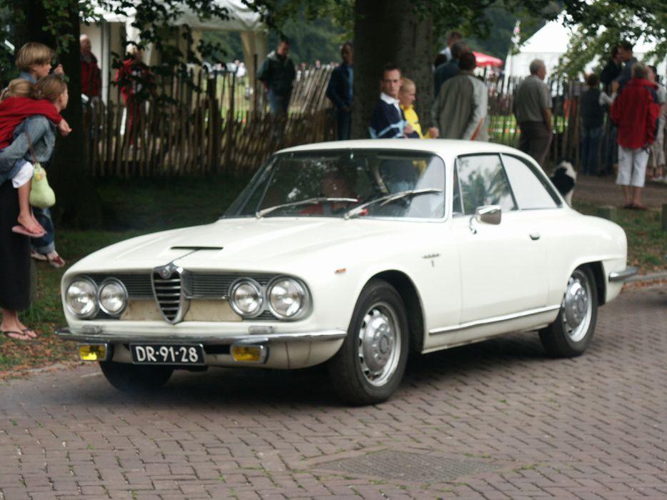 Alfa Romeo 2600 Sprint Concours d'Elegance Apeldoorn Holland 2004 wallpaper