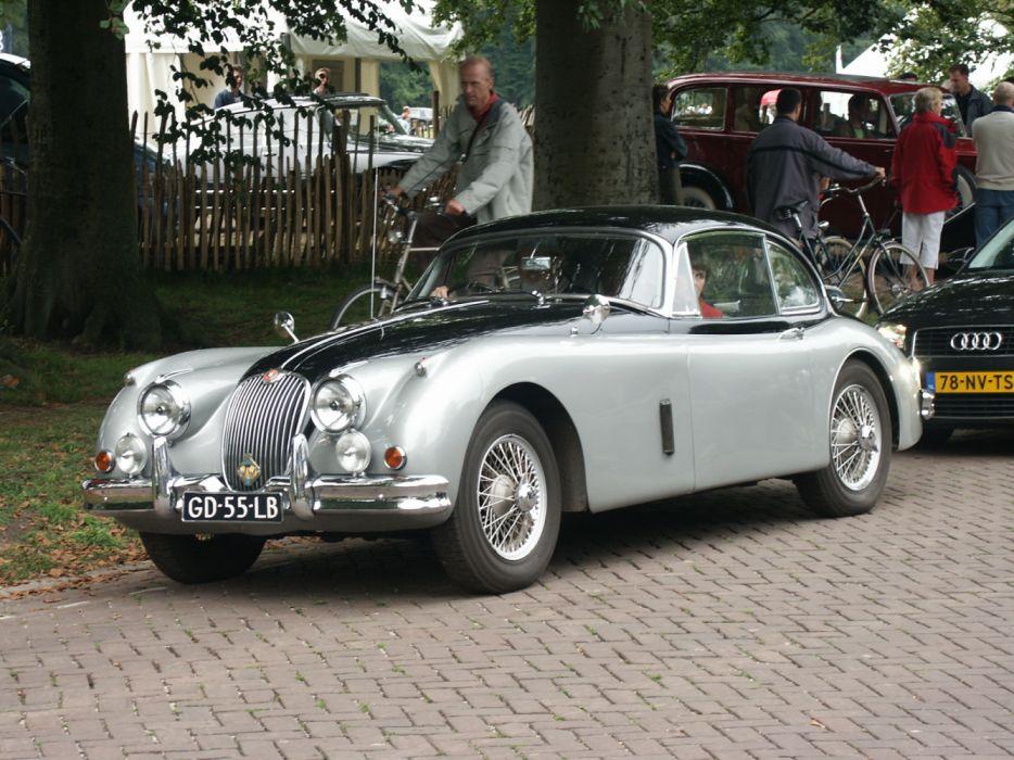 Jaguar XK150 Concours d'Elegance Apeldoorn Holland 2004 wallpaper