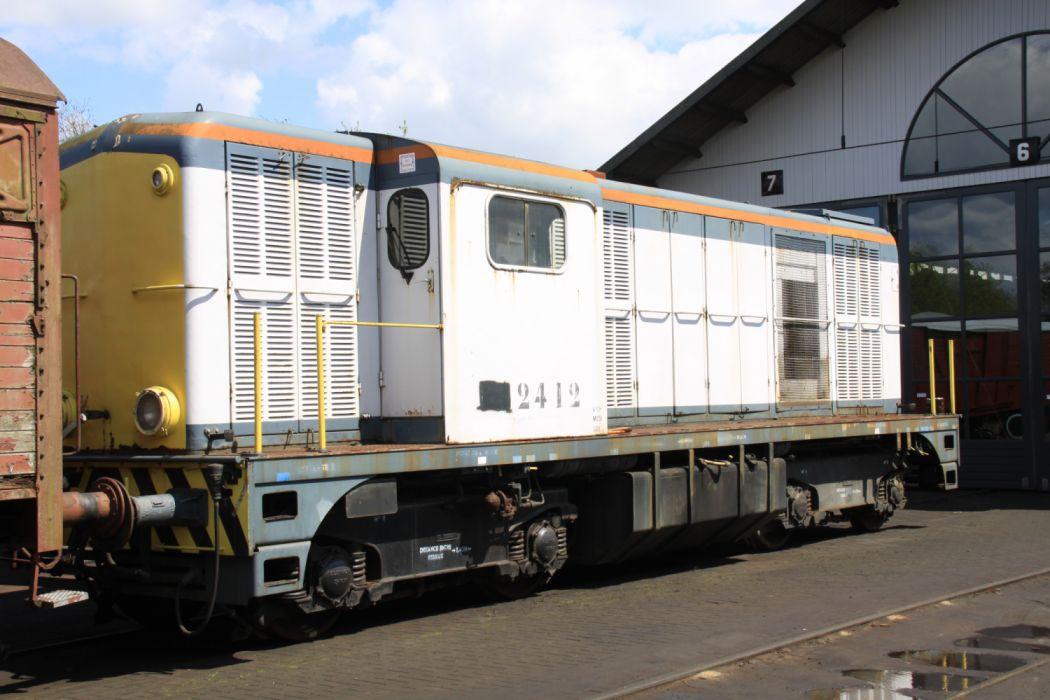 VSM Beekbergen Holland 2412 Back Locomotive wallpaper