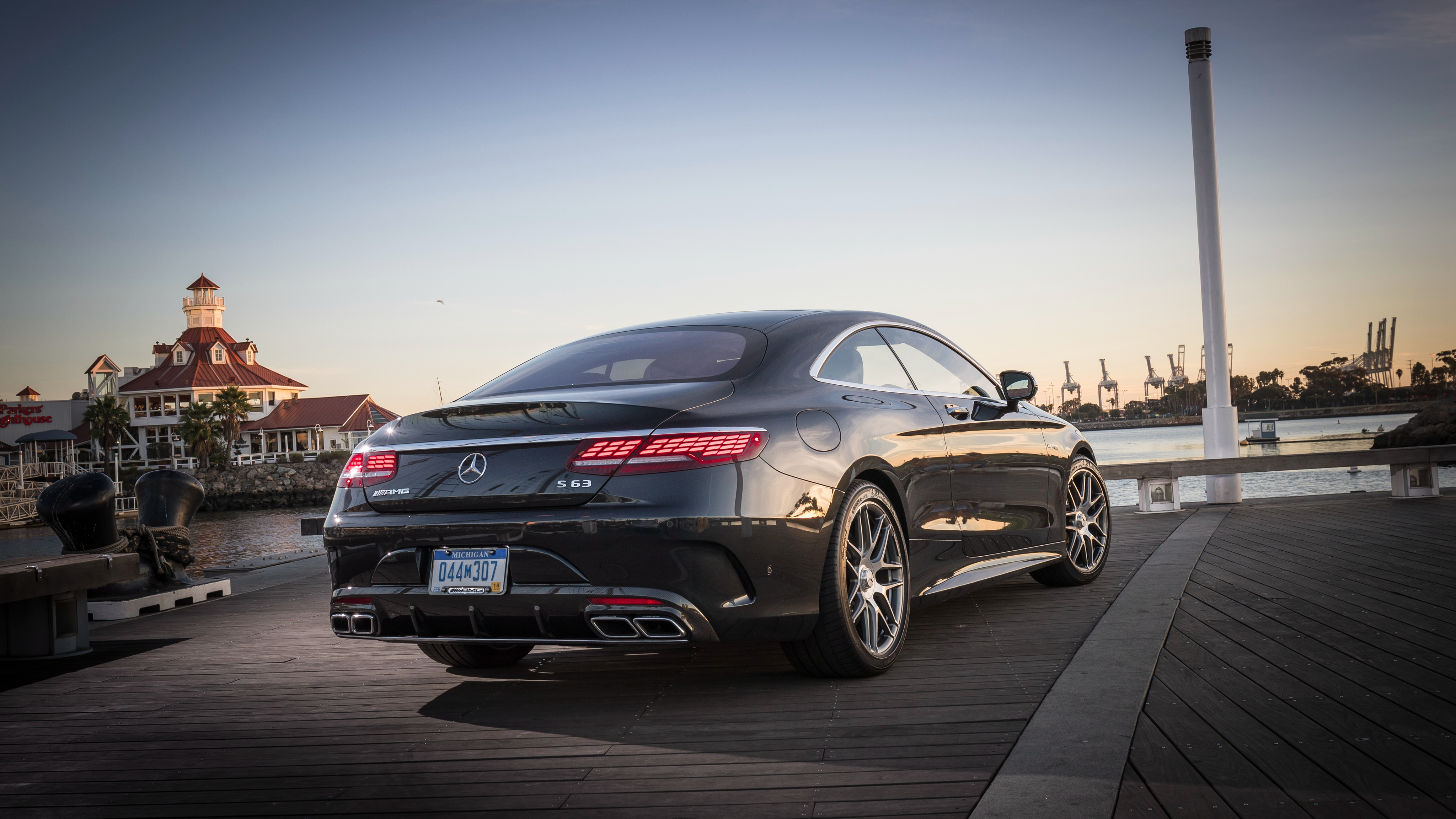 2018 Mercedes Amg S63 4matic Coupe C217 Benz Wallpaper