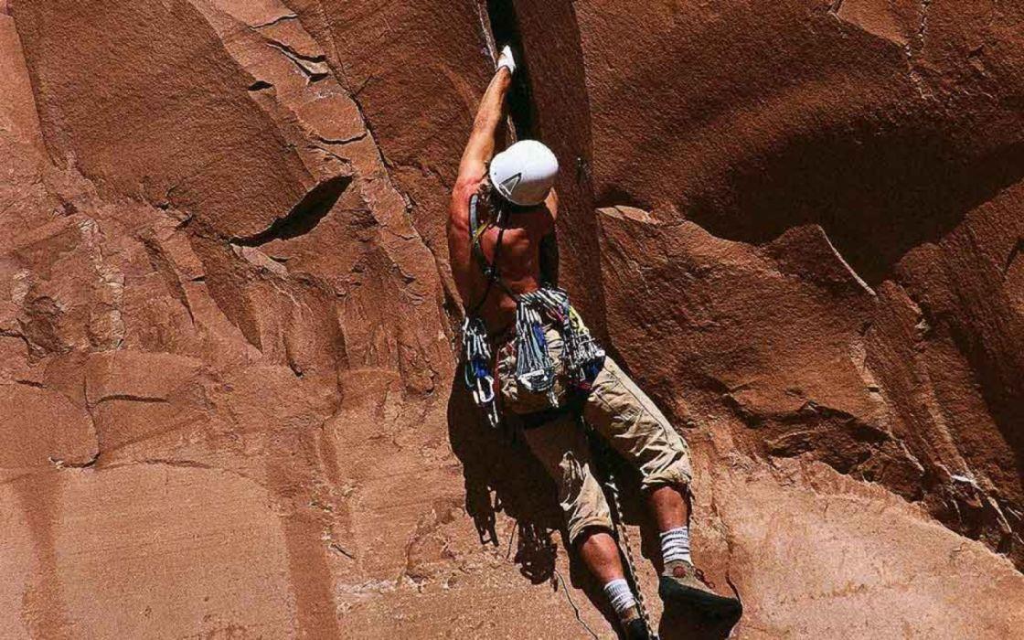 deporte riesgo alpinismo escalada wallpaper