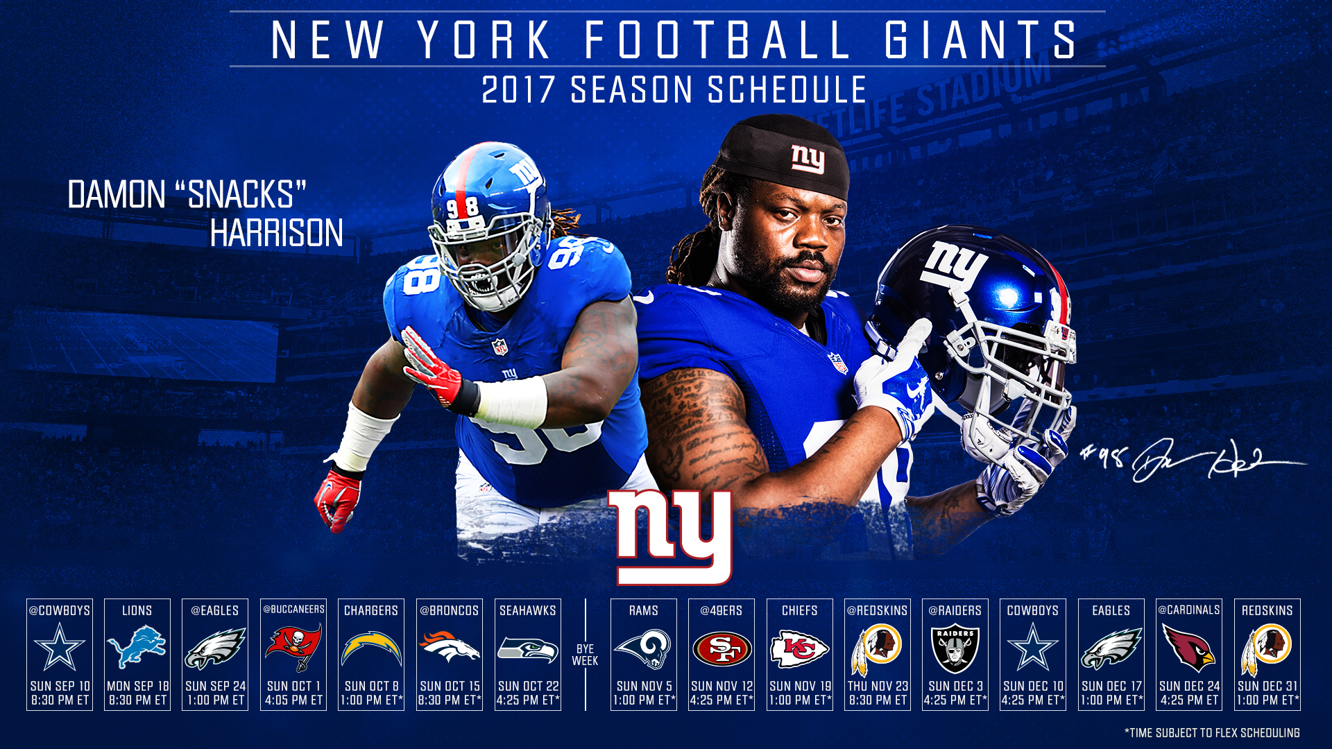 New York Giants Nfl Football Sports Wallpaper 1920x1080