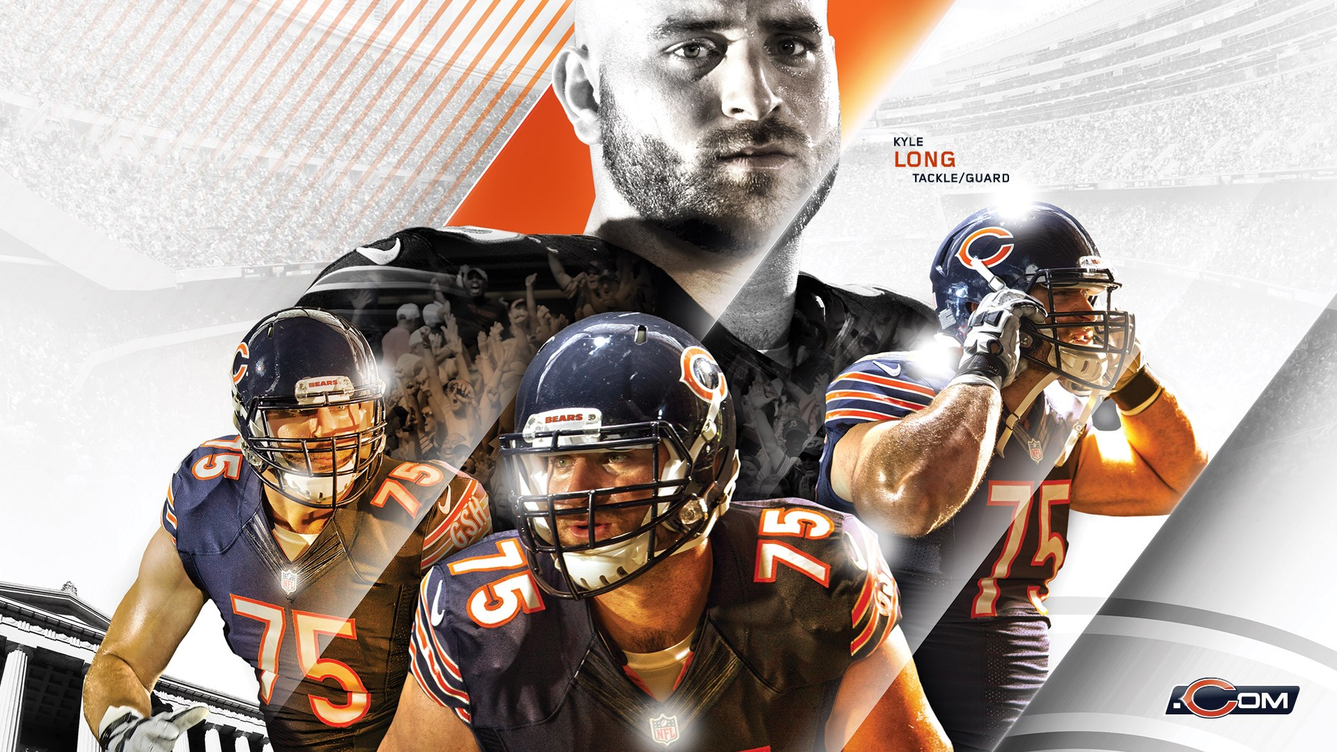 Chicago Bears nfl football sports wallpaper | 1920x1080 ...