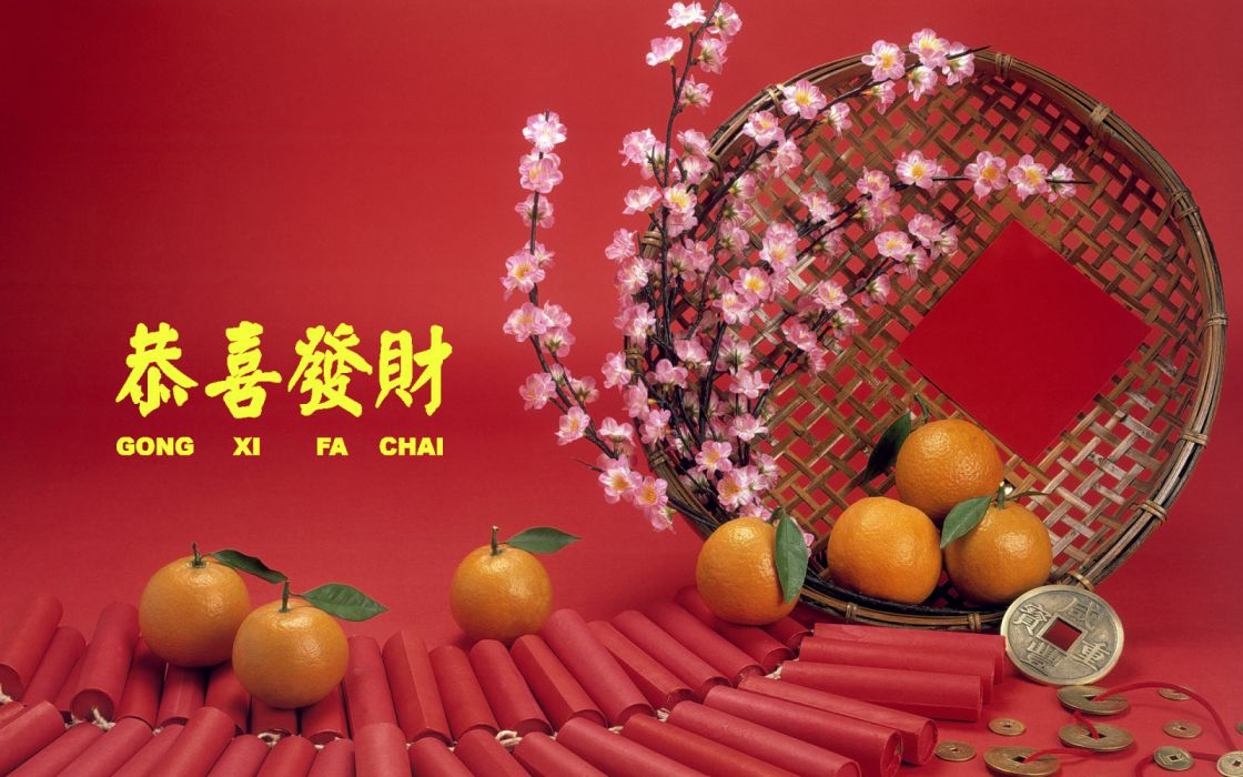 Chinese New Year holiday celebration party festival lunar Cultural religious Chinese folk religion Buddhist Confucian Daoism asian oriental 1cny china wallpaper