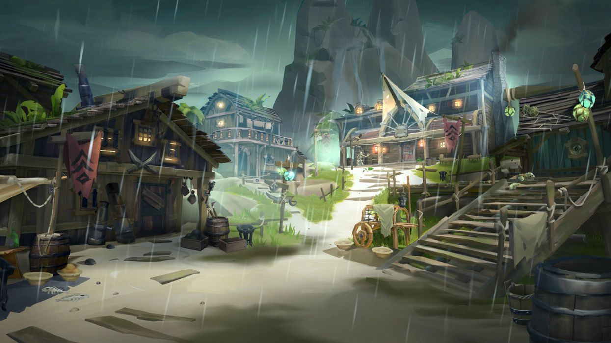 Sea Of Thieves 1seaot Fantasy Pirate Mmo Rpg Action Fighting