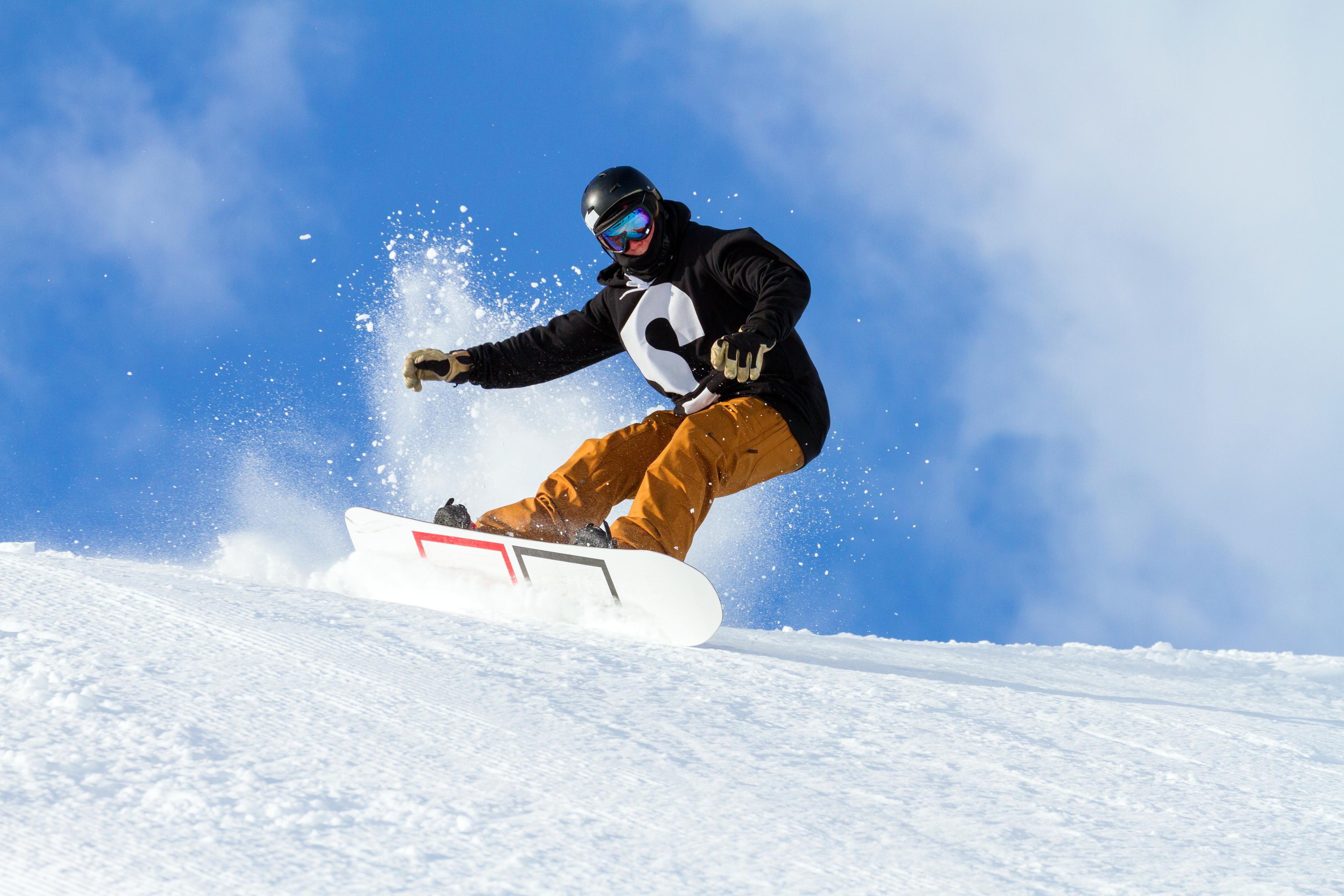 Snowboarding snowboard winter snow sports ski wallpaper for Smow gutschein
