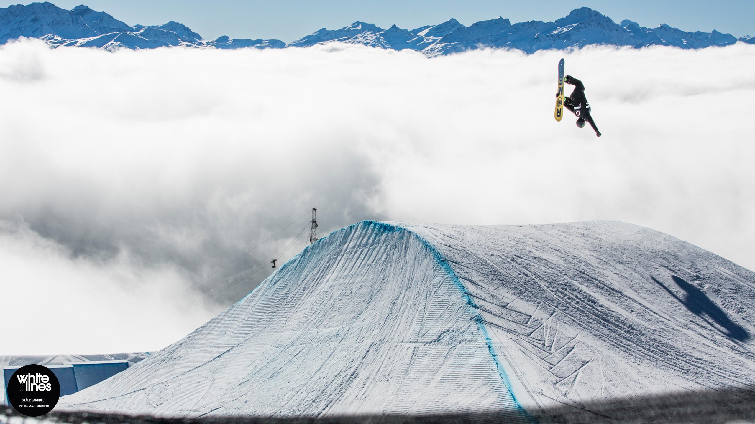 Snowboarding Snowboard Winter Snow Sports Ski Wallpaper 2560x1440 1183269 Wallpaperup