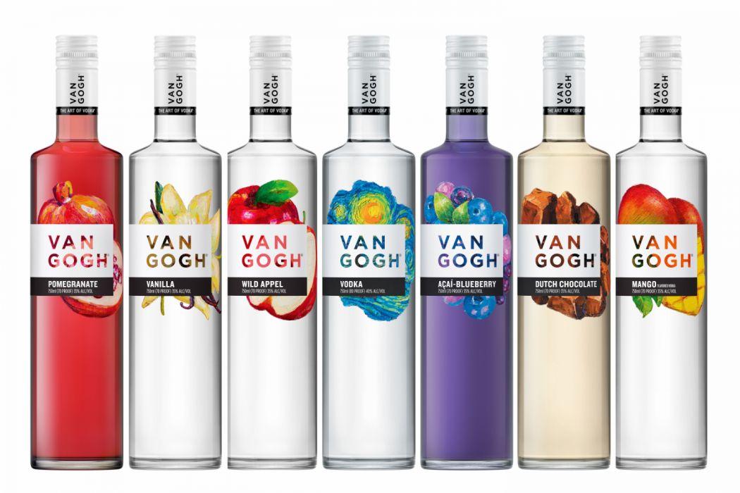 Vodka Van Gogh wallpaper