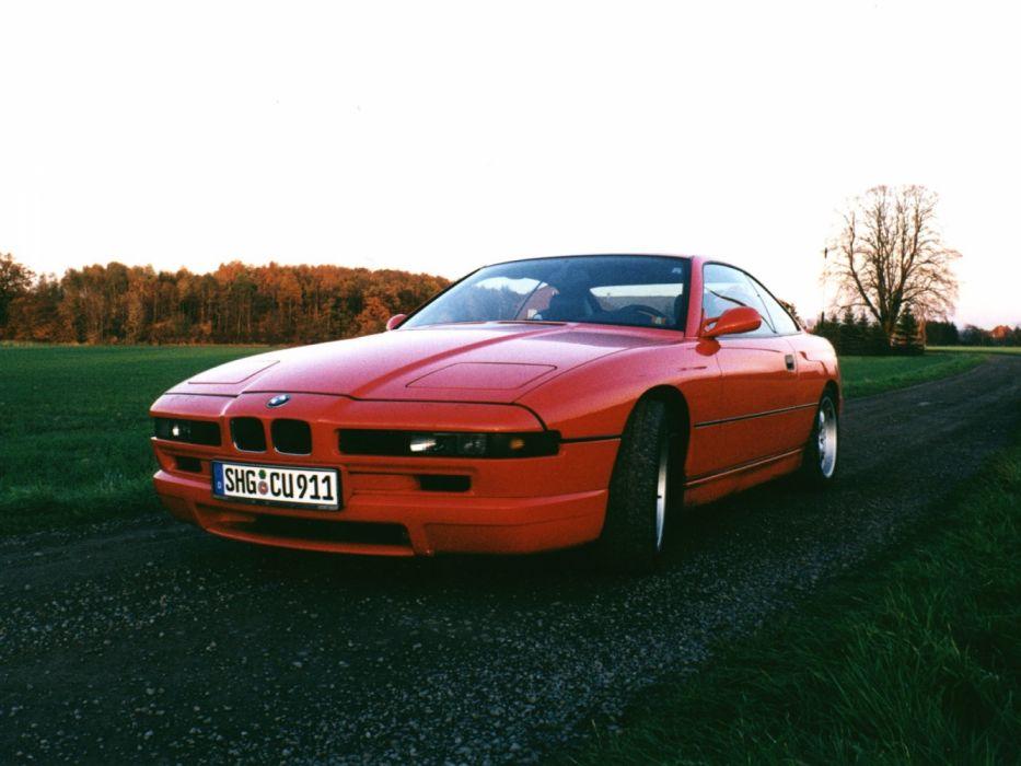 BMW 850 CSi E31 1992 wallpaper