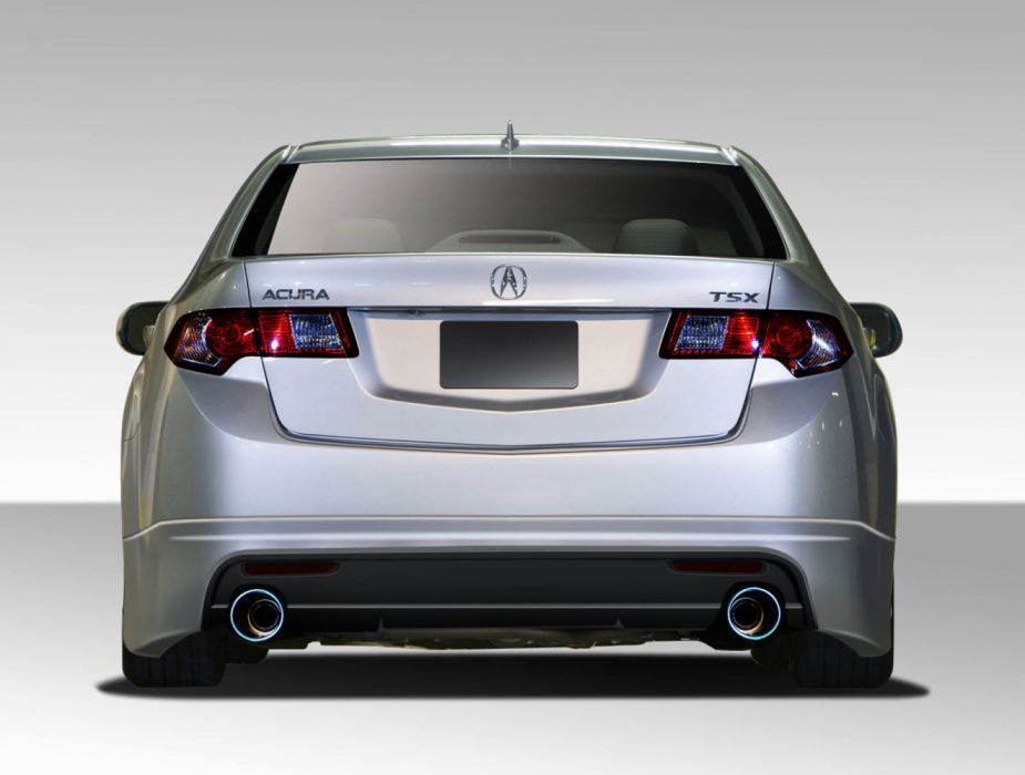 Acura TSX Type M Style Rear Lip Under Spoiler Air Dam wallpaper