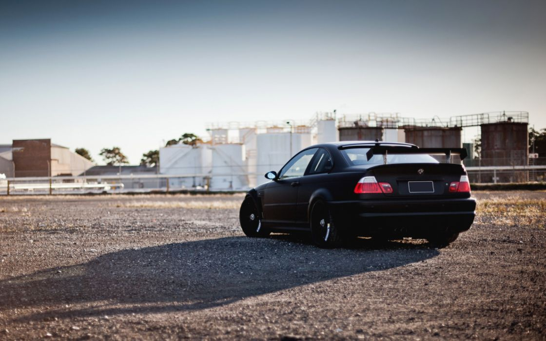 Bmw E46 M3 Black Tuning Car Wallpaper 2880x1800 1186226