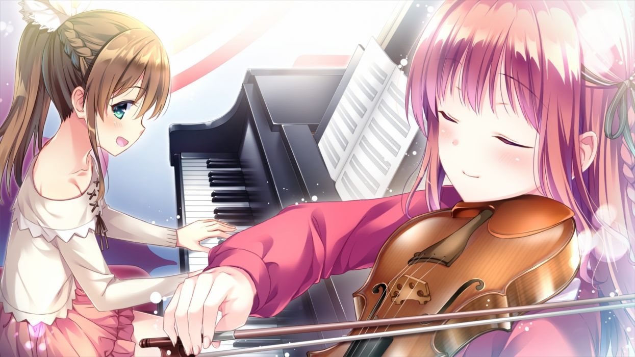 Konachan com - 258285 amazakura misaki ensemble (company) game cg male mizusawa sayaka omoi o sasageru otome no melody tagme (artist) trap wallpaper