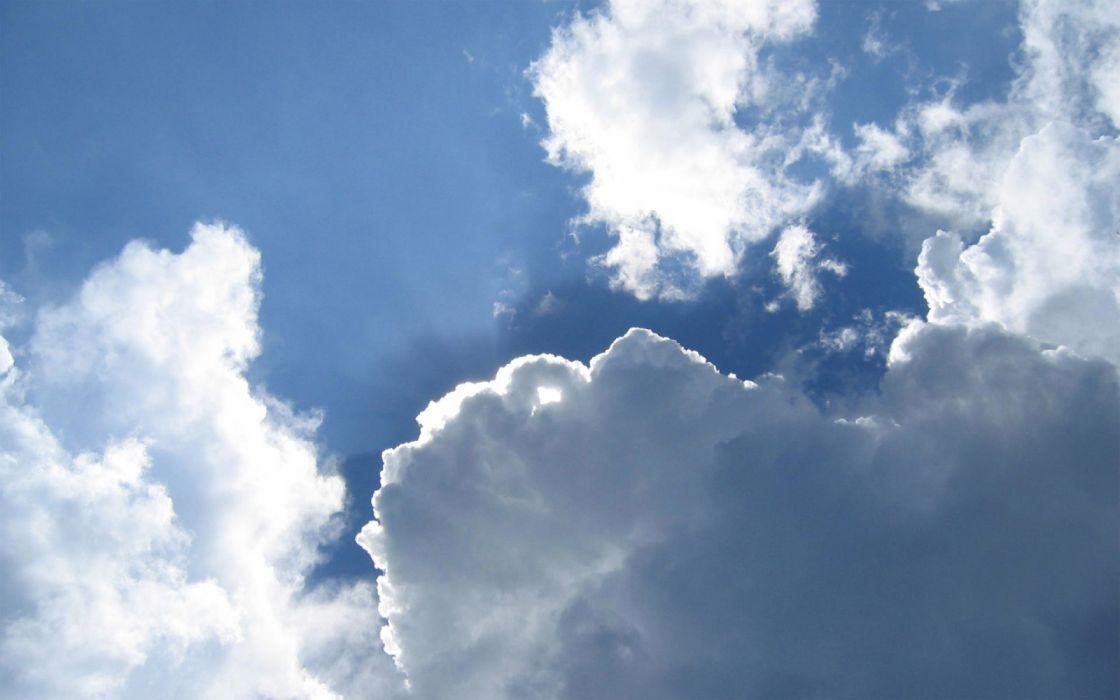 nubes cielo naturaleza wallpaper