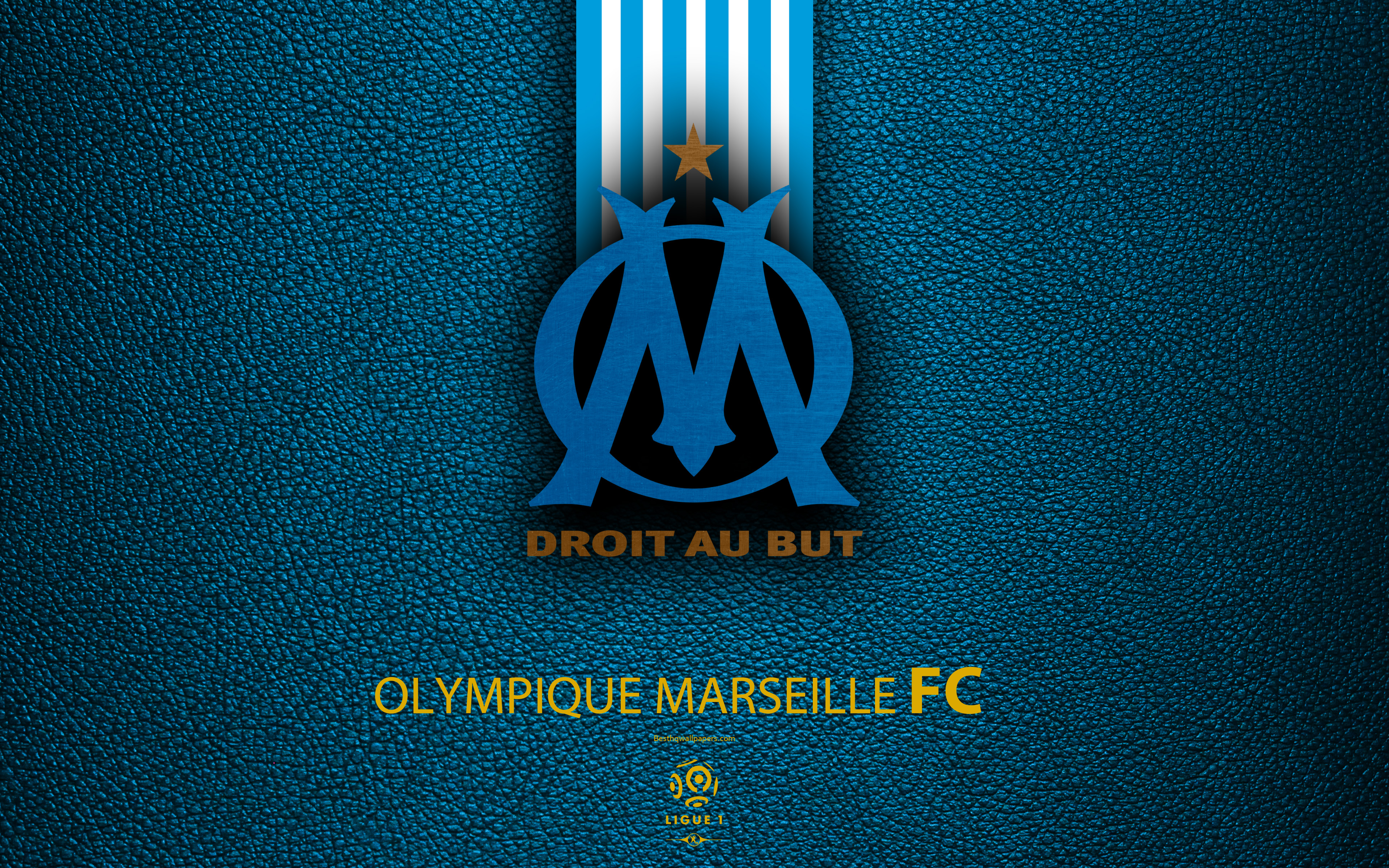 Olympique de marseille soccer sports wallpaper 3840x2400 - Marseille logo foot ...