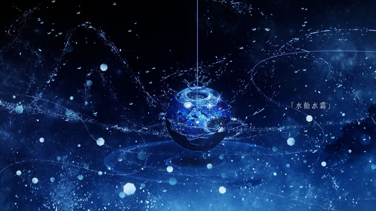 space new year subjects figures fantasy wallpaper