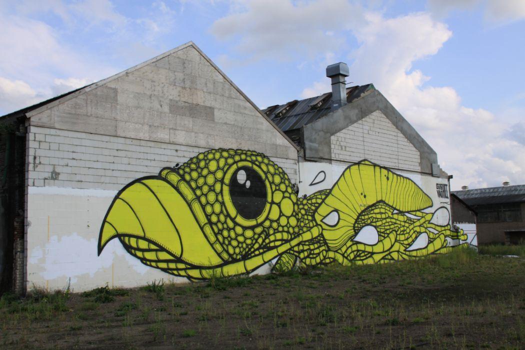 Graffiti Art Wall Kayersdijk Apeldoorn Netherlands wallpaper