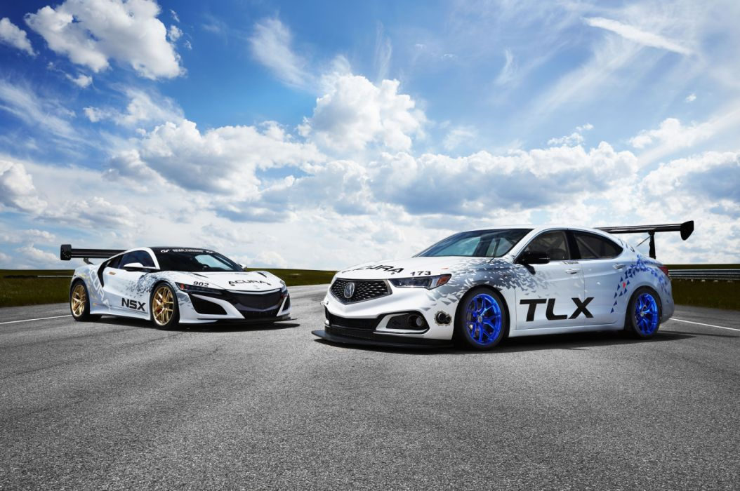 Acura TLX and NSX Pikes Peak wallpaper